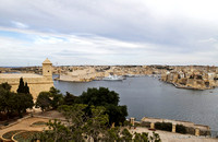 View Across Grand Harbour from Valletta