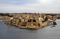 Fort St Michael from Valletta