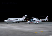 BAe 125 [ZE395] and Agusta 109 [ZR323]