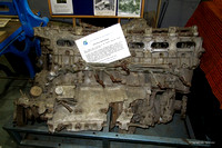Engine from crashed De Havilland Mosquito